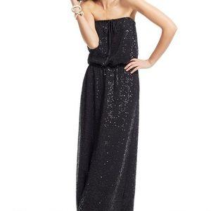 Calypso St. Barth Sequin Strapless Maxi Dress